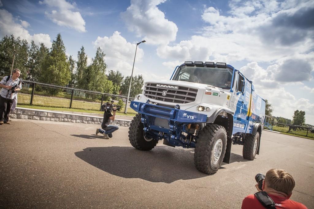 Спортивный грузовик капотной компоновки КАМАЗ