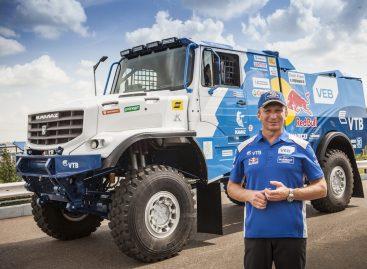 КАМАЗ представил спортивный грузовик капотной компоновки