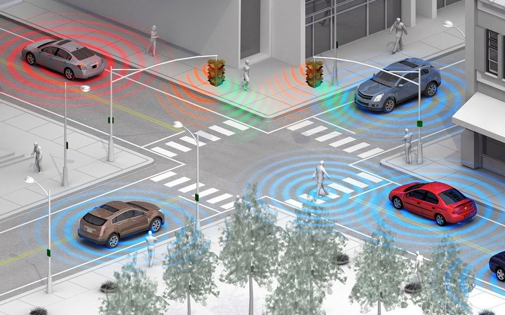 Технология автокоммуникаций Toyota DSRC