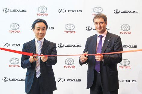 Toyota открывает новые дилерские центры в Москве