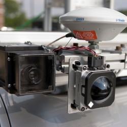 Видеокамеры автономного автомобиля Lexus