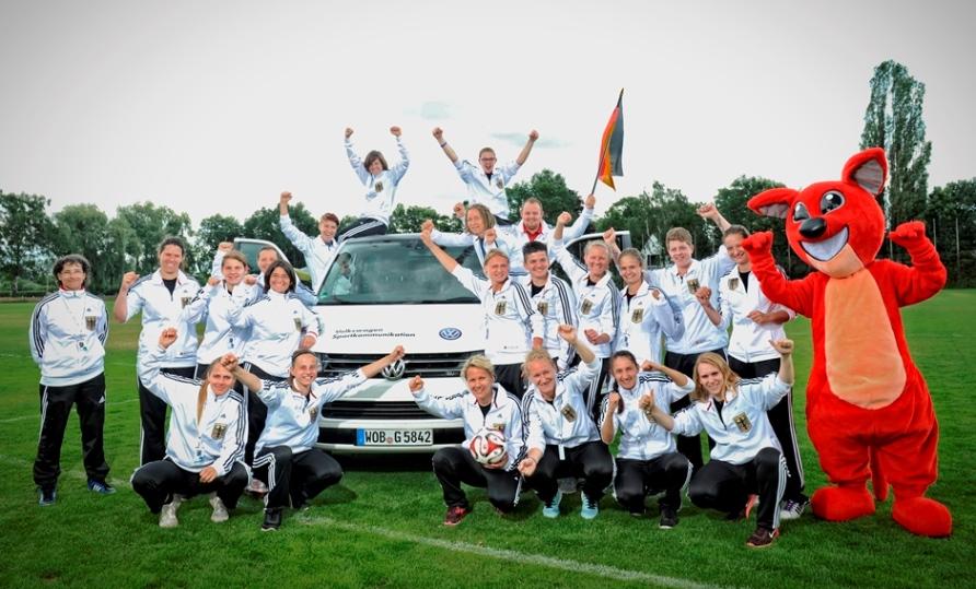 Volkswagen - партнер Союза глухих спортсменов Германии