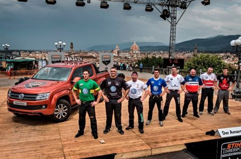 Volkswagen стал партнером соревнований лесорубов