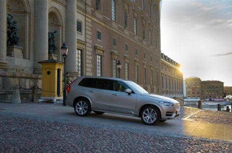 Volvo XC90 будет автомобилем кортежа на королевской свадьбе