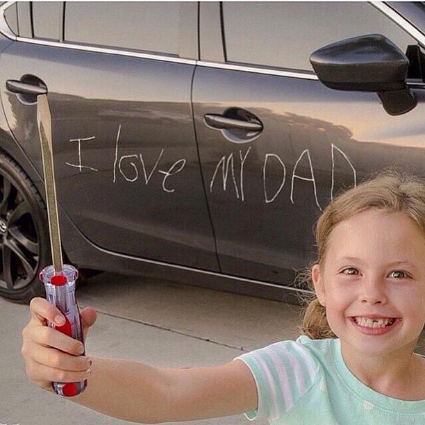 Я люблю тебя, папа