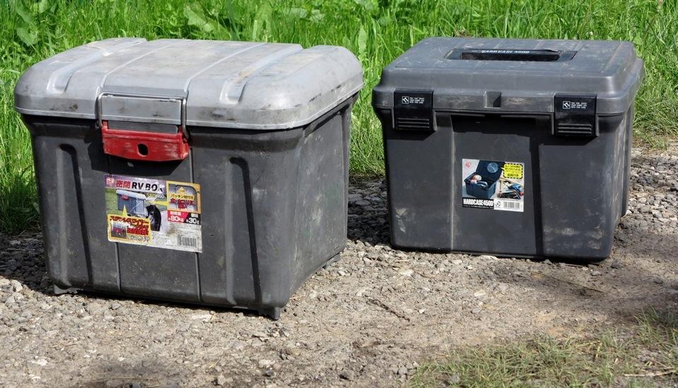 Ящики с вещами