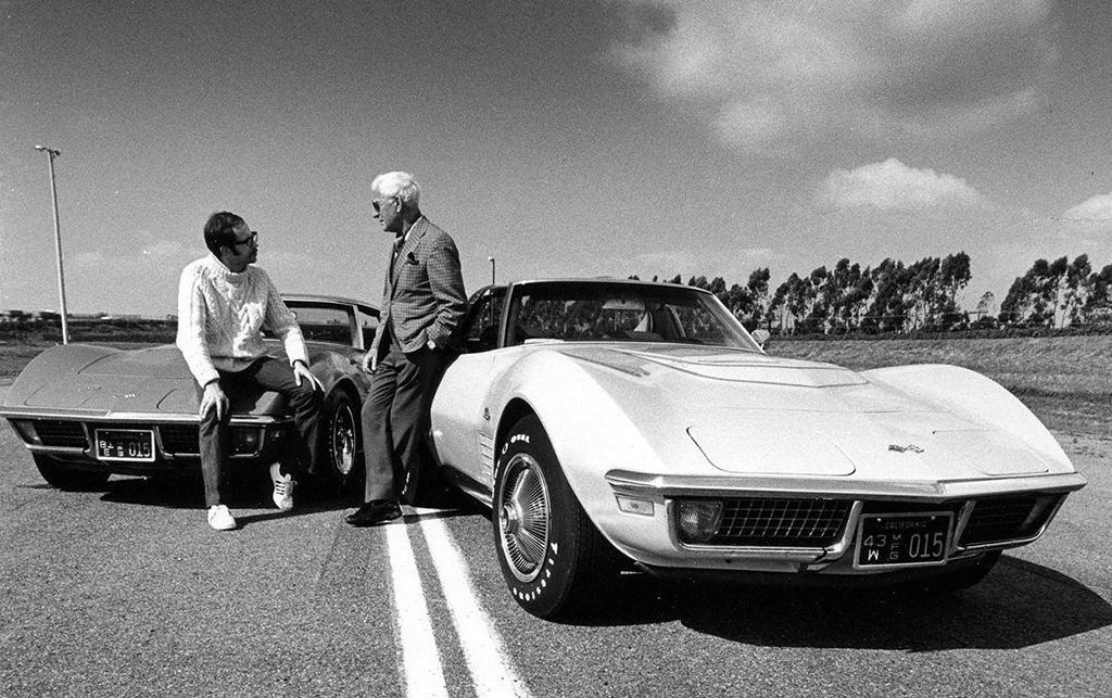 Жора Аркус-Дантов и два Corvette 1971 года