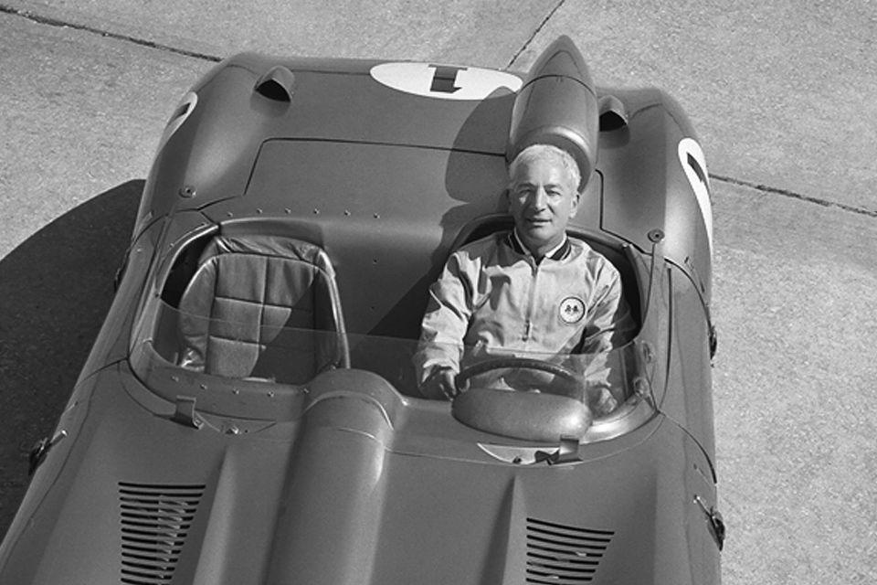 Жора Аркус-Дантов в Corvette SS