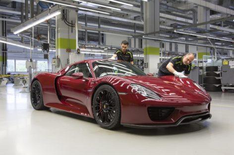 Porsche заканчивает производство 918 Spyder