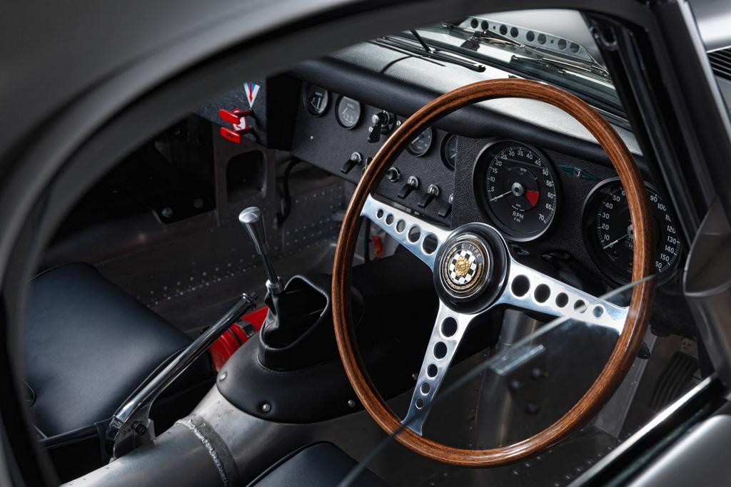 Деревянное рулевое колесо для Lightweight Jaguar E-Type