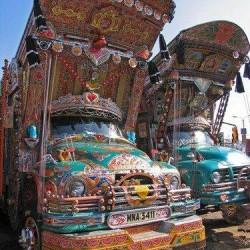Дизайн грузовиков в Пакистане