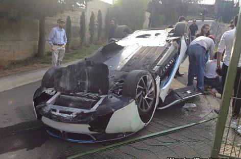 Бог троицу любит – третий BMW i8 попал в аварию