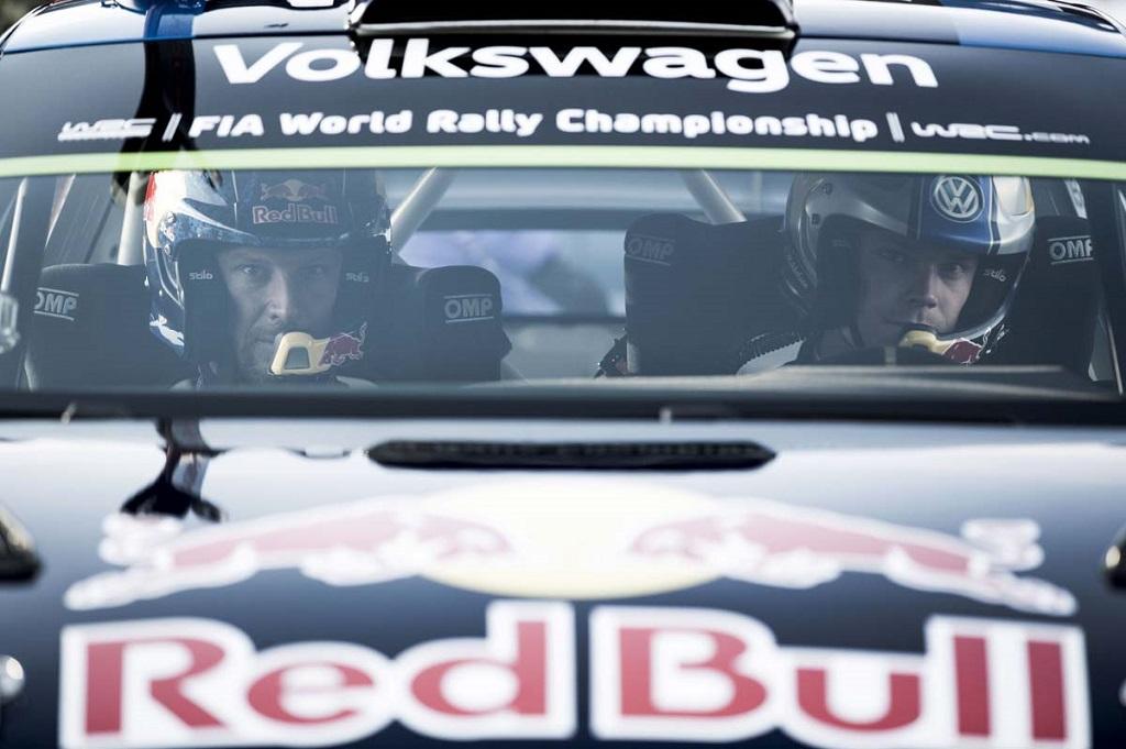 Аксель Свиндаль и Андреас Миккельсен в Volkswagen Polo R WRC