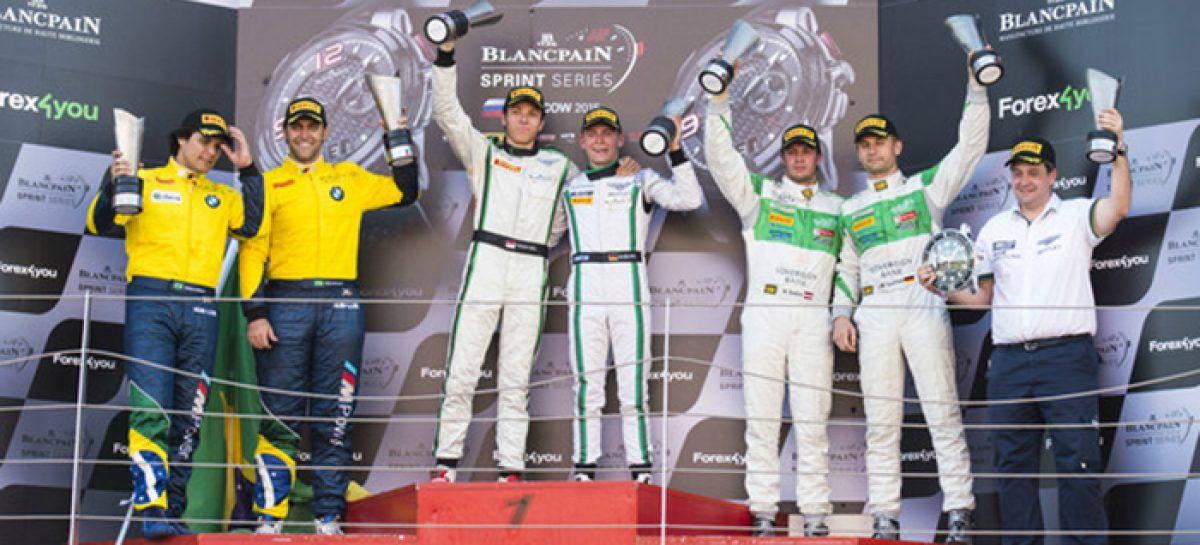 В Blancpain Sprint Series в Москве победил Bentley