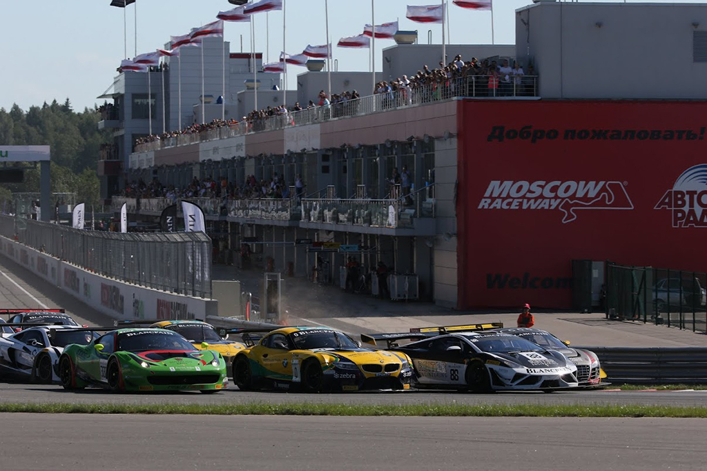 Blancpain Sprint Series в Москве 2015