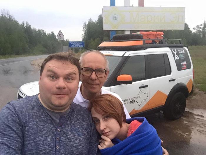Экипаж Эхо Москвы въехал в Марий Эл