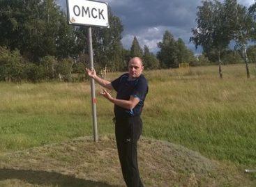 Автопробег Эха Москвы. Омск
