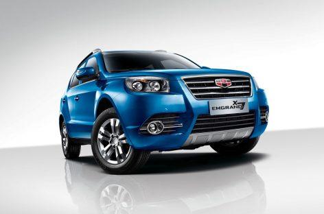 Geely выведет на рынок 4 новых SUV