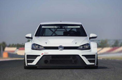 Volkswagen выпускает новый гоночный Golf