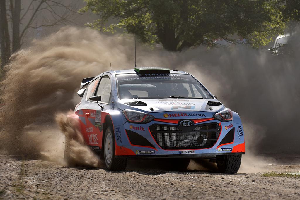 Hyundai Motorsport на Ралли Польши