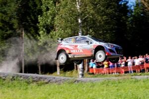 Hyundai Motosport на ралли Финляндии, 2014 год