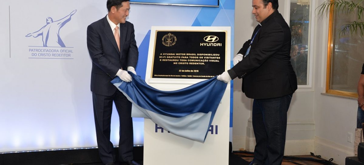 Hyundai проведет интернет к статуе Христа Спасителя в Рио