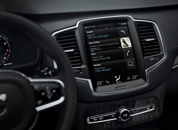 Интерфейс Volvo Sensus признан Самой инновационной системой