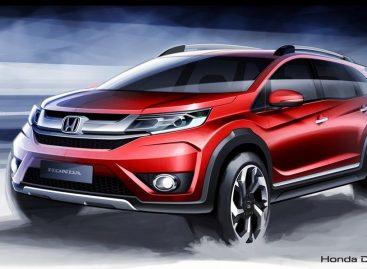 Honda представила новый кроссовер
