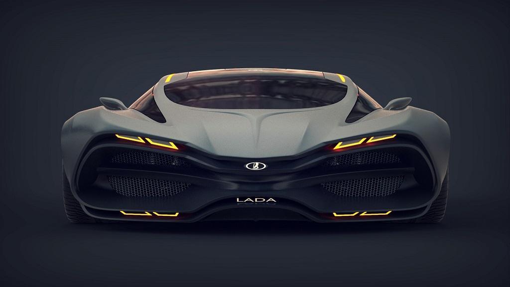 Lada Raven - концепт дизайнера Дмитрия Лазарева