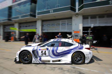 Болид Lexus RC F GT3 дебютирует и побеждает
