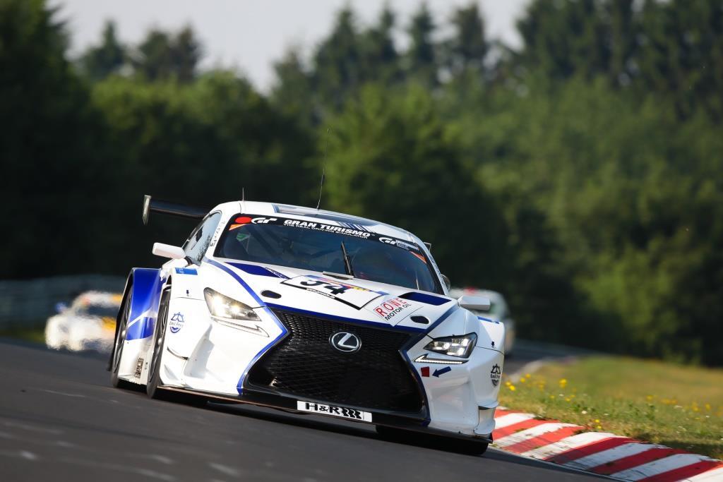 Lexus RC F GT3 команды Emil Frey Racing