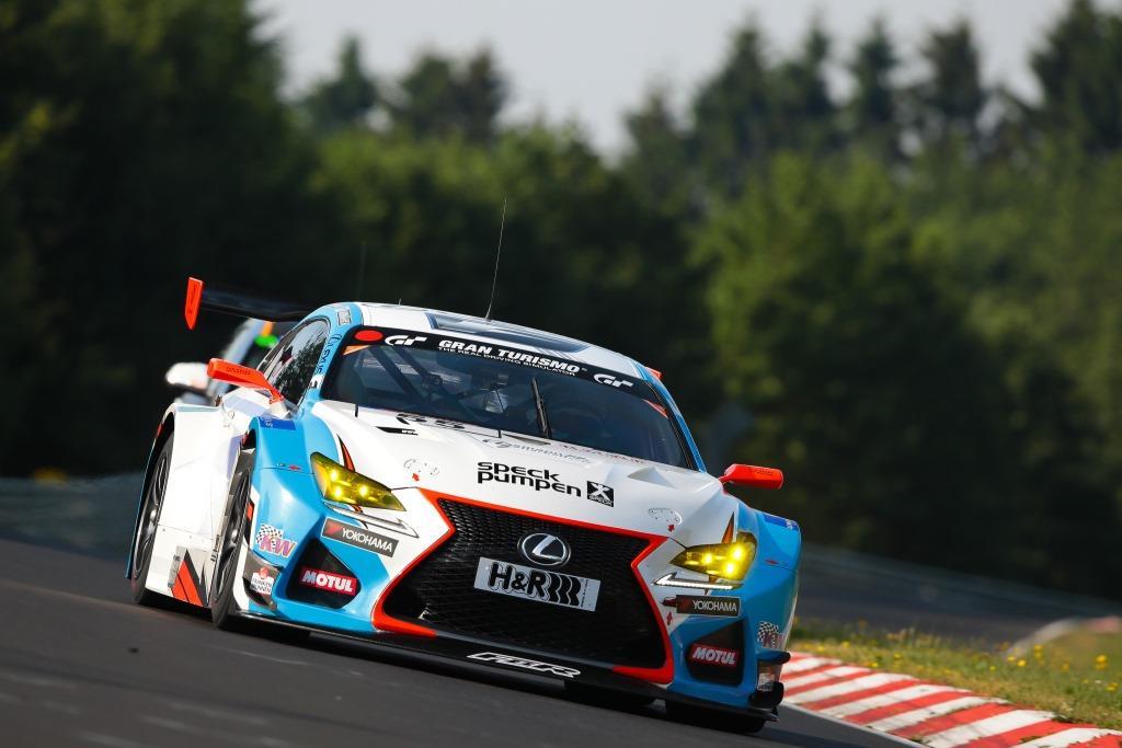 Lexus RC F GT3 команды Farnbacher Racing
