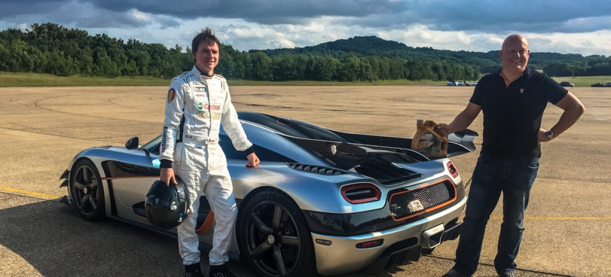 Castrol обеспечит моторным маслом мегакар Koenigsegg