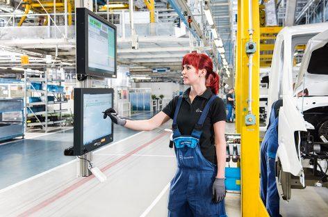 Интеллектуальное производство Mercedes