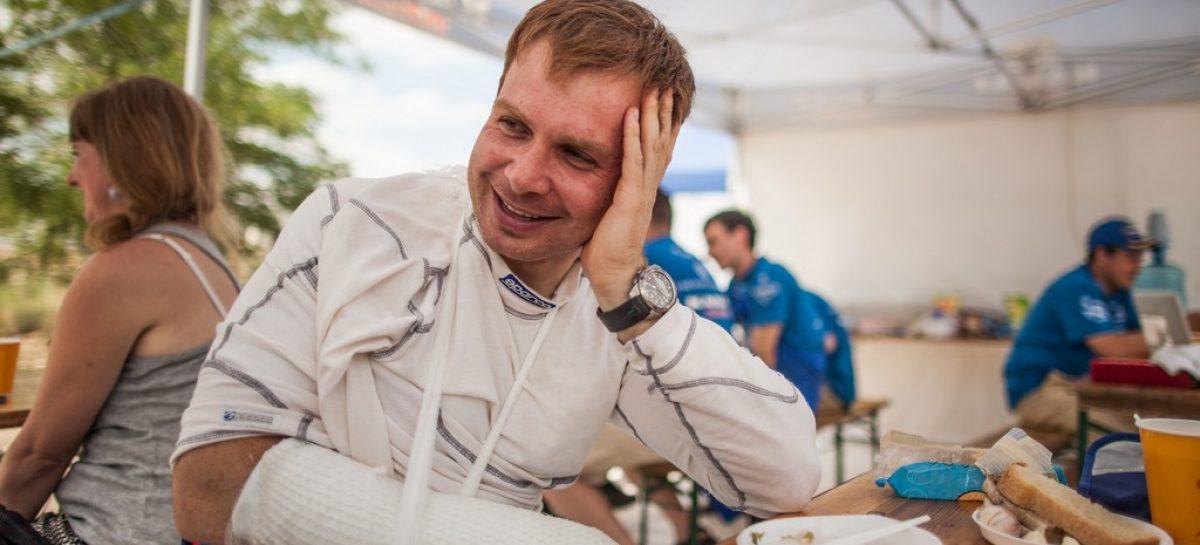 Эдуард Николаев сходит с гонки из-за травмы