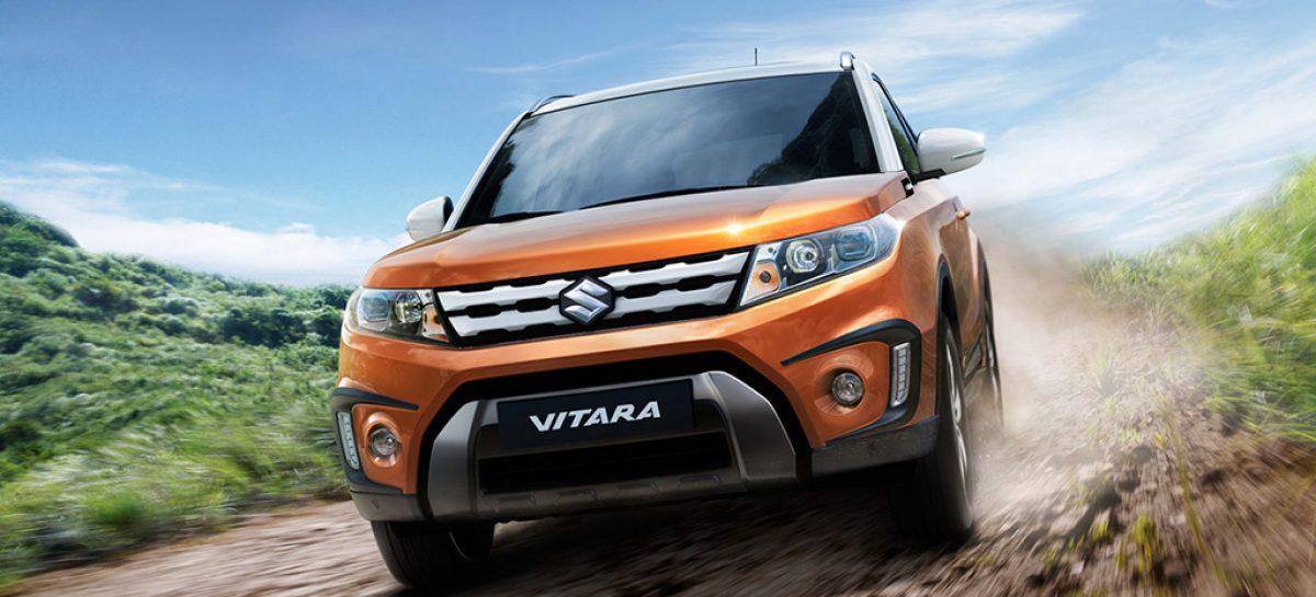 Suzuki Vitara поступит в автосалоны уже в августе