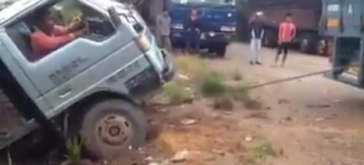 Тащили грузовик, а вытащили…