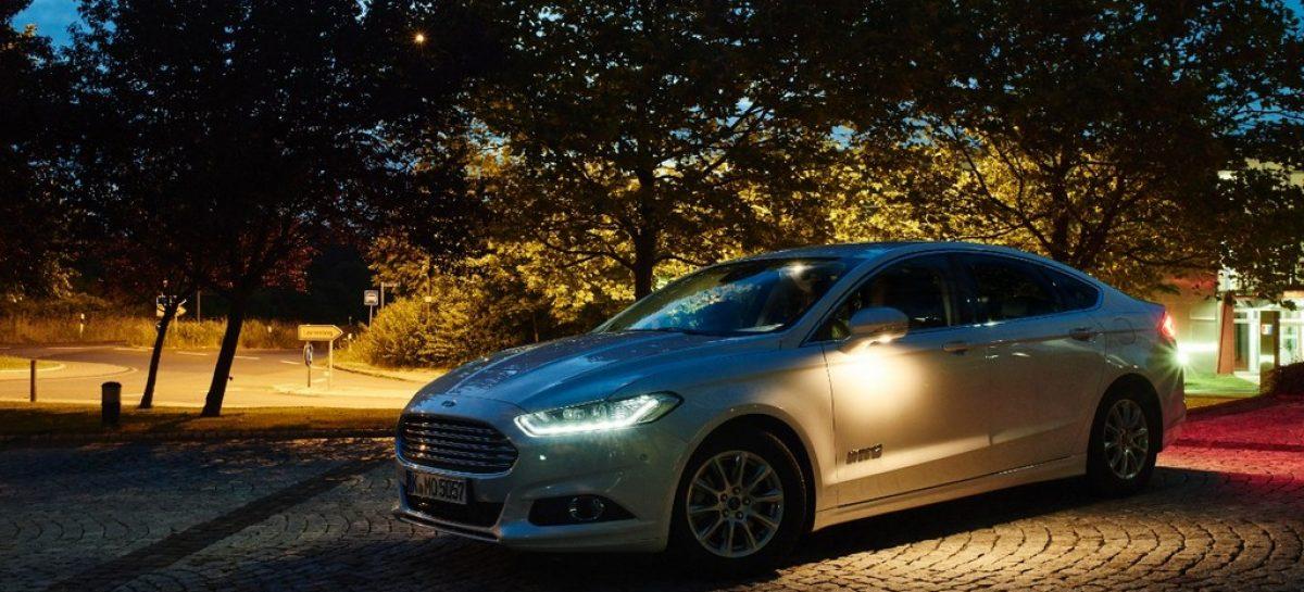 Ford разрабатывает фары с интеллектом