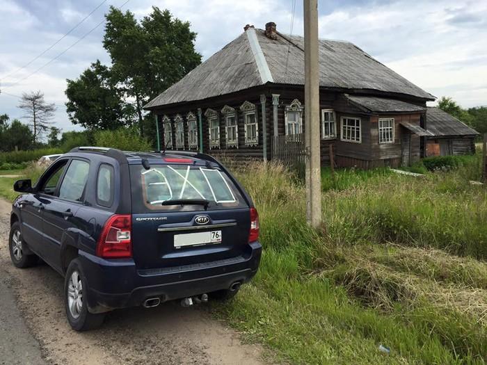 В деревне Шалаево