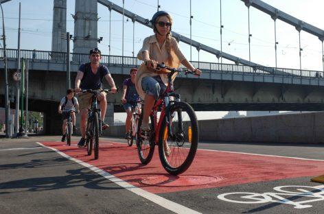 От Бульварного кольца отрежут полосу для велосипедистов