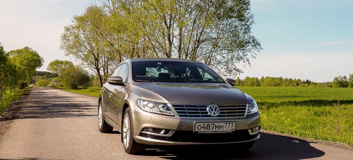 Volkswagen Passat CC: настоящий Эстет