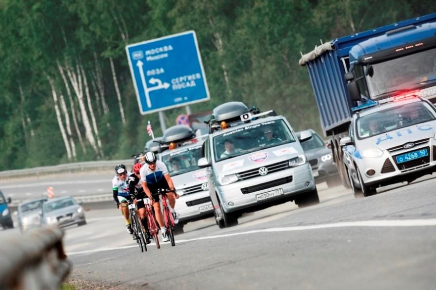Volkswagen поддерживает велогонку RBTSE