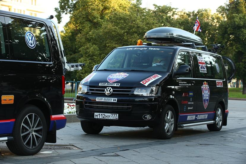 Volkswagen поддерживает велогонку Red Bull Trans-Siberian Extreme
