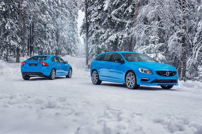 Volvo S60 и V60 Polestar 2016 модельного года
