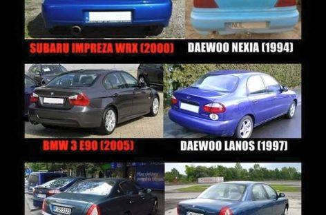 Daewoo — источник вдохновения?