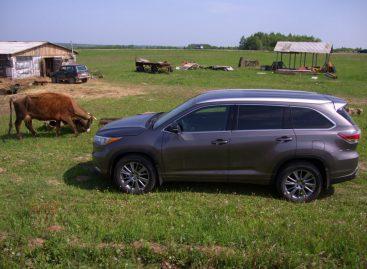 Тест-драйв Toyota Highlander: Паркет для плохих дорог