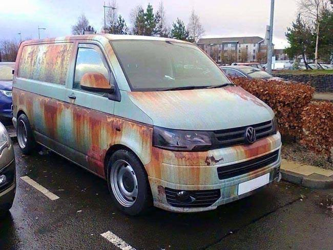 VW камуфляж