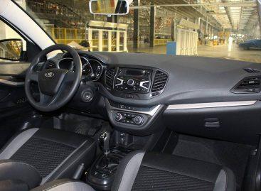 Салон Lada Vesta в предсерийном исполнении