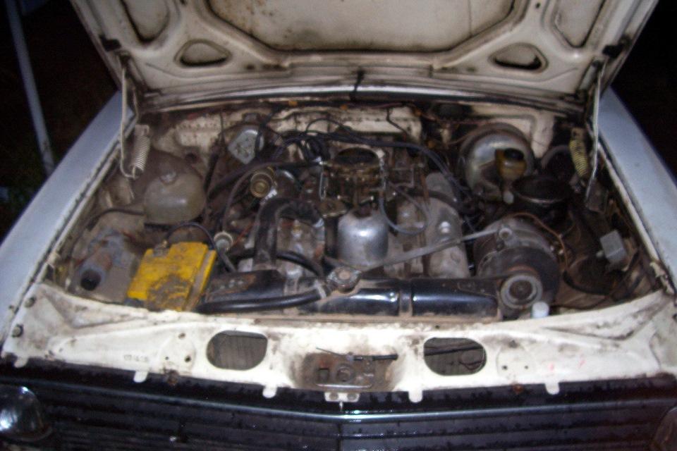 Двигатель от Чайки