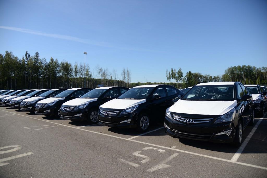 Автомобили Hyundai в России идут на экспорт в Египет и Ливан